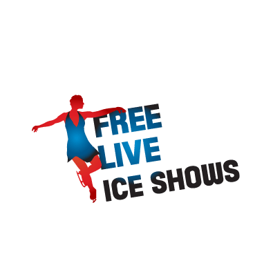 Free Live Ice shows logo
